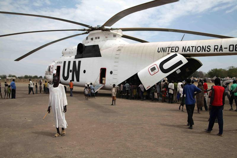 Six Bulgarian contractors for the UN World Food Programme were held for a week by Sudan rebels when their helicopter made an unexpected landing