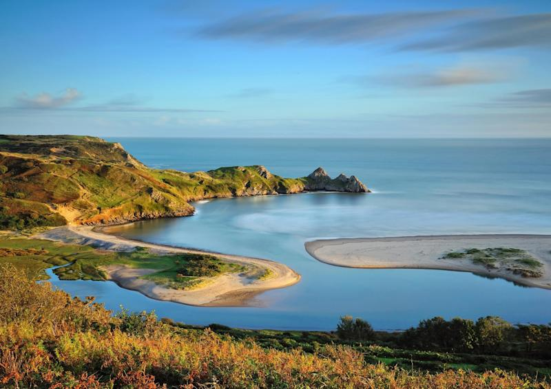 The Gower Peninsula - getty