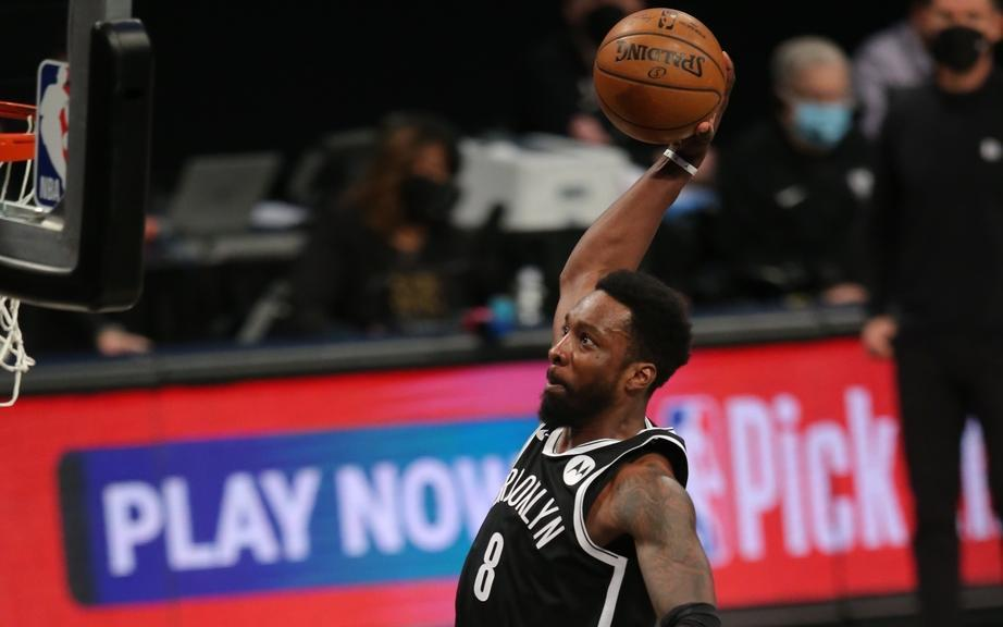 Jeff Green one-handed dunk cropped