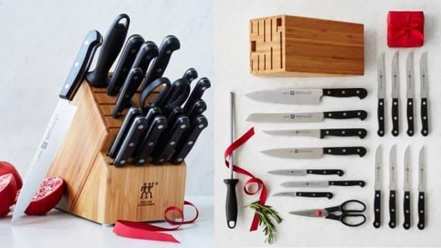 A good knife set is useful year-round.