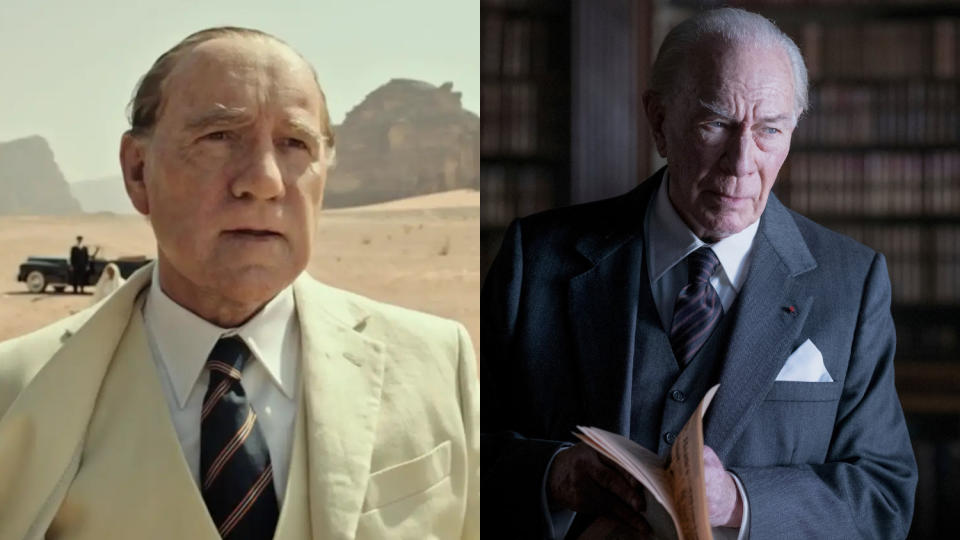 Kevin Spacey was replaced by Christopher Plummer in 'All the Money in the World'. (Credit: Sony)