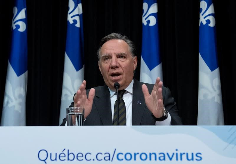 Quebec to close non-essential businesses until April 13 as COVID-19 cases spike