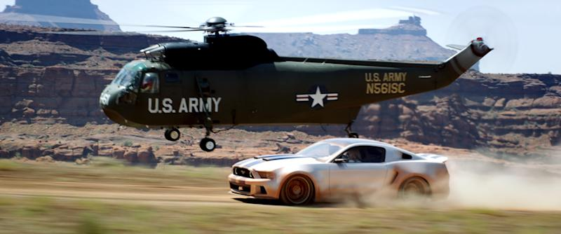 """This image released by DreamWorks II shows a scene from """"Need for Speed."""" (AP Photo/DreamWorks II)"""