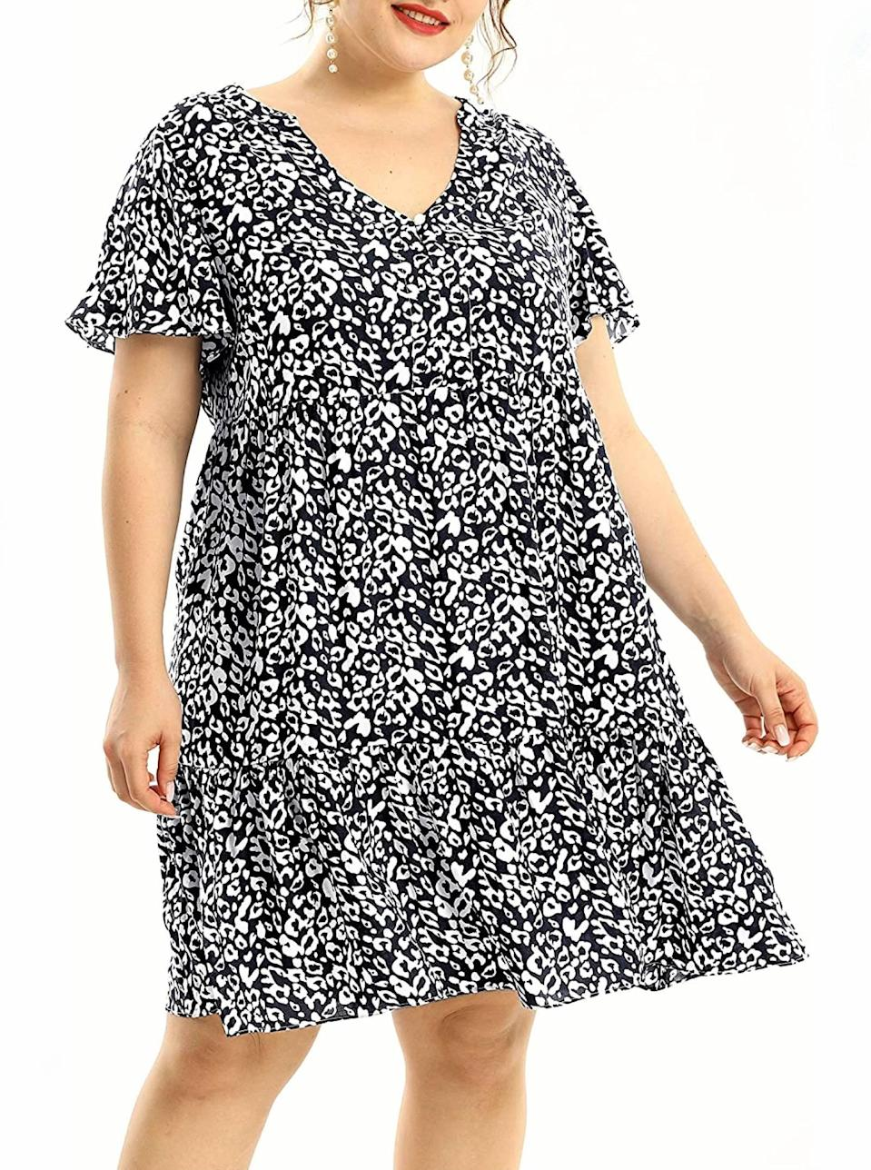 """The kind of summertime staple you'll be hard pressed to take off. $24, Amazon. <a href=""""https://www.amazon.com/Light-Dresses-Women-Ruffle-Length/dp/B08DK6H8B1/"""" rel=""""nofollow noopener"""" target=""""_blank"""" data-ylk=""""slk:Get it now!"""" class=""""link rapid-noclick-resp"""">Get it now!</a>"""