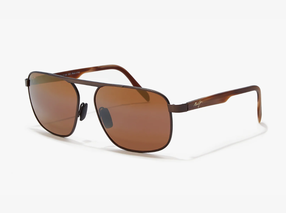 """<p><strong>MAUI JIM</strong></p><p>sunglasshut.com</p><p><strong>$299.99</strong></p><p><a href=""""https://go.redirectingat.com?id=74968X1596630&url=https%3A%2F%2Fwww.sunglasshut.com%2Fus%2Fmaui-jim%2Fmj000573-603429050894&sref=https%3A%2F%2Fwww.esquire.com%2Fstyle%2Fmens-fashion%2Fg34385982%2Ffall-wardrobe-essentials%2F"""" rel=""""nofollow noopener"""" target=""""_blank"""" data-ylk=""""slk:Shop Now"""" class=""""link rapid-noclick-resp"""">Shop Now</a></p><p>Whoever came up with the myth that sunglasses are a summer accessory has some explaining to do. The sun shines all year round, and eye protection is always paramount. These streamlined aviators from Maui Jim are the perfect amber hue for fall, and will compliment any face shape. </p>"""