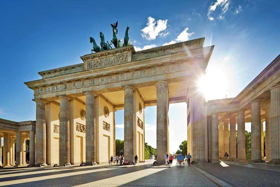 <p>2019 marks 30 years since the fall of the Berlin Wall – and there's even more reason than ever to visit the city as it puts on celebratory events and exhibitions. There will be tours of the wall art depicted in the East Side Gallery, cycle rides along what used to be the border, and performances at the Jazzwerkstatt Peitz. Other events not to be missed include the opening of the Humboldt Forum, an arts hub built on the site of what was once the palace of the kaisers. <em>[Photo: Getty]</em> </p>