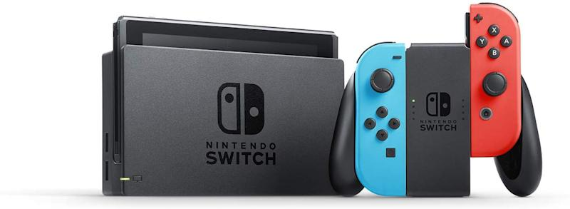 The Nintendo Switch doubles as a home console and a mobile handheld. (Photo: Amazon)