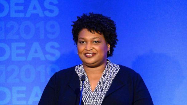 PHOTO: Stacey Abrams, Founder of Fair Fight Action, speaking at The Center for American Progress CAP 2019 Ideas Conference in Washington, D.C. on May 22, 2019. (Michael Brochstein/Sipa USA via Newscom)