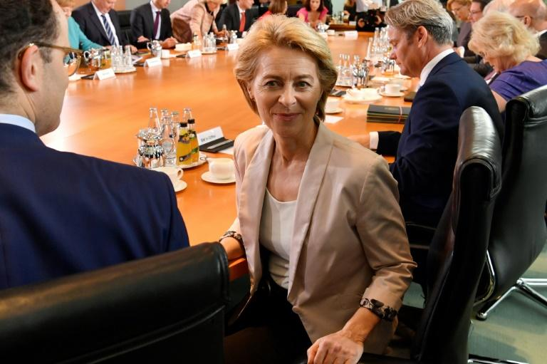 Ursula von der Leyen has a number of challenges facing her when she takes up leadership of the European Commission in November (AFP Photo/John MACDOUGALL)