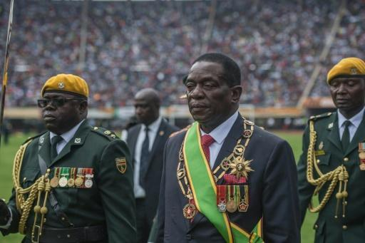 <p>Mnangagwa sworn in as Zimbabwe president</p>