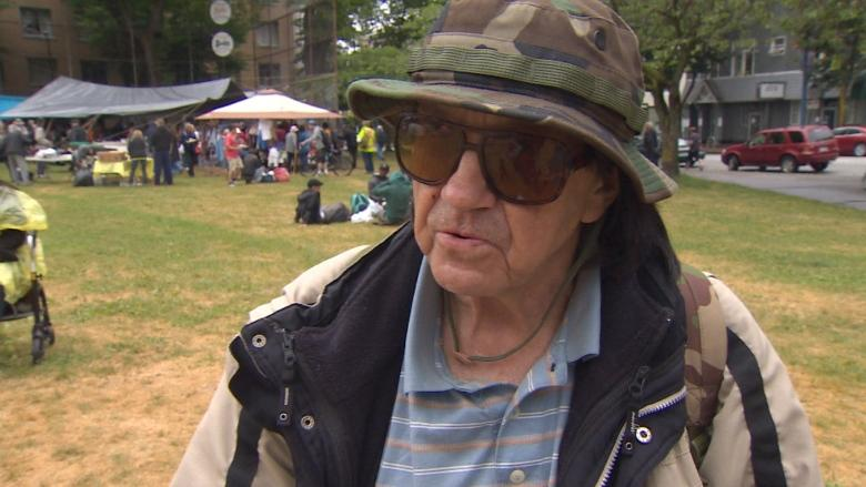 Oppenheimer homeless camp: First Nations members issue eviction notice to Vancouver