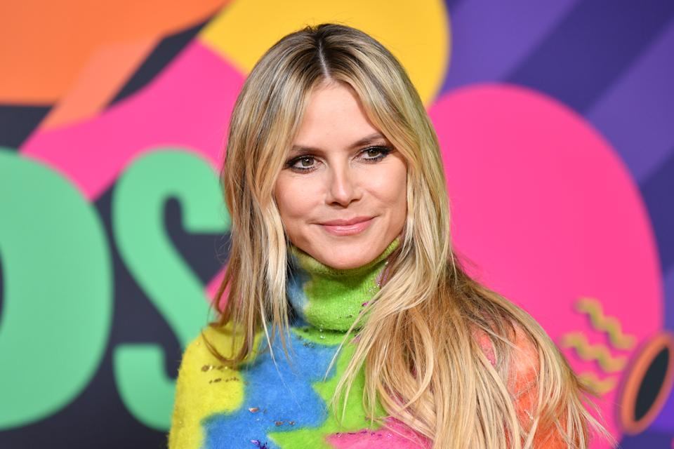 Heidi Klum shared photos of her sunbathing session with husband Tom Kaulitz. (Photo: Amy Sussman/KCA2021/Getty Images for Nickelodeon)