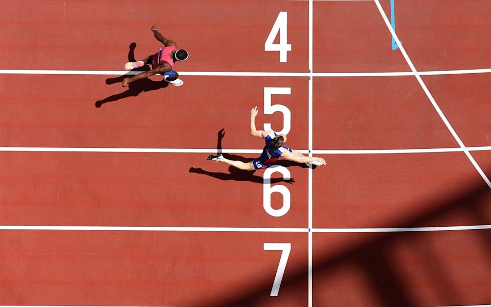 Karsten Warholm smashed the world record in the 400m hurdles on Tuesday - Getty Images