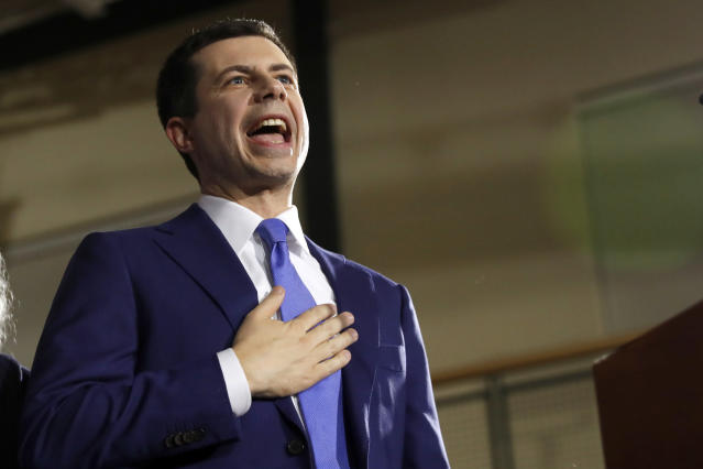 El exalcalde de South Bend (Indiana), Pete Buttigieg. (AP)