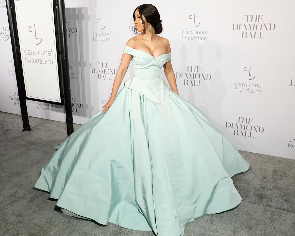 Cardi B\'s Red Carpet Looks Are As Red Hot As Her Career. Check Out ...