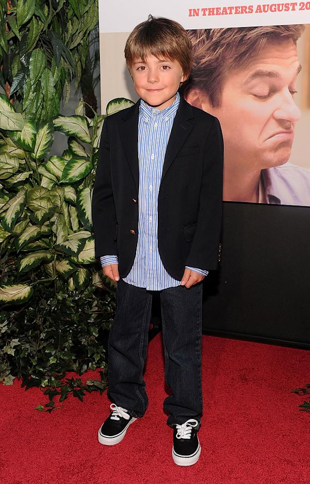 """<a href=""""http://movies.yahoo.com/movie/contributor/1808914915"""">Thomas Robinson</a> at the Los Angeles premiere of <a href=""""http://movies.yahoo.com/movie/1810071908/info"""">The Switch</a> - 08/16/2010"""