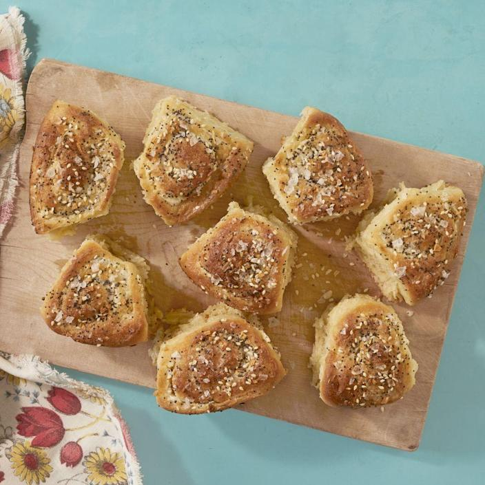 """<p>Who wouldn't love waking up to these savory bagel-inspired buns? They're even filled with cream cheese!</p><p><a href=""""https://www.thepioneerwoman.com/food-cooking/recipes/a35927568/everything-bagel-buns-recipe/"""" rel=""""nofollow noopener"""" target=""""_blank"""" data-ylk=""""slk:Get the recipe."""" class=""""link rapid-noclick-resp""""><strong>Get the recipe.</strong></a></p><p><a class=""""link rapid-noclick-resp"""" href=""""https://go.redirectingat.com?id=74968X1596630&url=https%3A%2F%2Fwww.walmart.com%2Fsearch%2F%3Fquery%3Drolling%2Bpins&sref=https%3A%2F%2Fwww.thepioneerwoman.com%2Ffood-cooking%2Frecipes%2Fg36145857%2Fbreakfast-in-bed-recipes%2F"""" rel=""""nofollow noopener"""" target=""""_blank"""" data-ylk=""""slk:SHOP ROLLING PINS"""">SHOP ROLLING PINS</a></p>"""