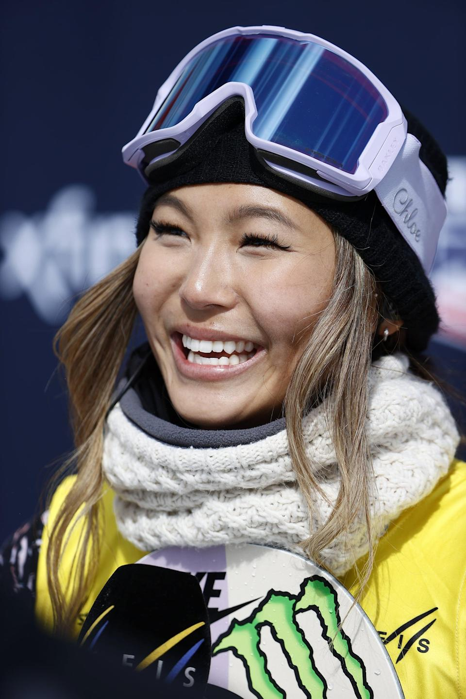 """<p>In 2018, Chloe Kim became <a href=""""https://www.olympicchannel.com/en/athletes/detail/chloe-kim/"""" class=""""link rapid-noclick-resp"""" rel=""""nofollow noopener"""" target=""""_blank"""" data-ylk=""""slk:the youngest woman to win an Olympic gold medal in snowboarding"""">the youngest woman to win an Olympic gold medal in snowboarding</a>, and she quickly used her platform to speak out against bullying, something the then 17-year-old had experienced herself. """"<a href=""""https://www.goodmorningamerica.com/culture/story/fresh-off-olympic-glory-chloe-kim-hopes-platform-54057914"""" class=""""link rapid-noclick-resp"""" rel=""""nofollow noopener"""" target=""""_blank"""" data-ylk=""""slk:So many kids have taken their lives"""">So many kids have taken their lives</a>, or are hurting themselves because of bullying. And they don't see the joys in life,"""" Kim told <strong>Good Morning America</strong>. Three years later, Kim is <a href=""""https://www.popsugar.com/fitness/athletes-launch-togethxr-media-company-womens-sports-48191162"""" class=""""link rapid-noclick-resp"""" rel=""""nofollow noopener"""" target=""""_blank"""" data-ylk=""""slk:a founding partner of Togxther"""">a founding partner of Togxther</a>, a new platform dedicated to women's sports, which are notoriously underrepresented in media. It's yet another way to ensure that kids can see a future for themselves: one where their talents are celebrated.</p>"""