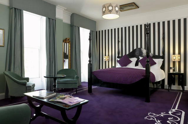 One of the larger bedrooms at Francis Hotel Bath [Photo: Supplied]