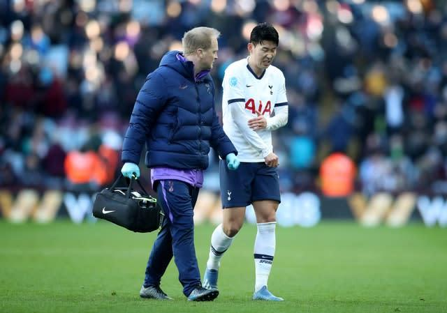 Son Heung-min has gone to South Korea for surgery on his broken arm (Nick Potts/PA)