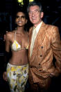 <p>Berry poses with the spiffy-looking Ian McKellen, who played the supervillain Magneto in four <i>X-Men</i> installments. <i>(Photo: Kevin Mazur/WireImage)</i></p>