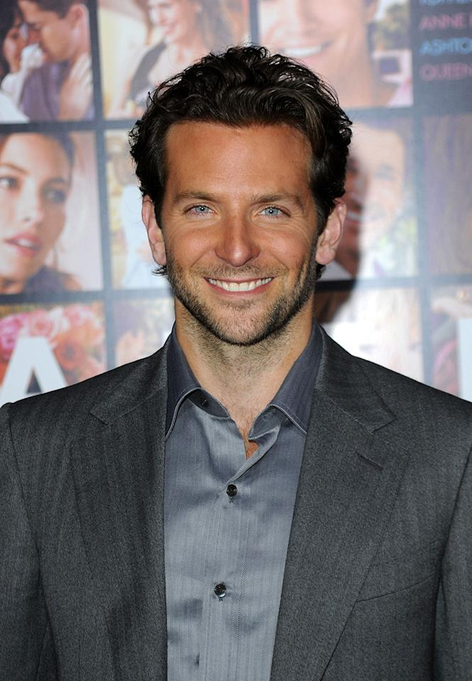 """<a href=""""http://movies.yahoo.com/movie/contributor/1804751131"""">Bradley Cooper</a> at the Los Angeles premiere of <a href=""""http://movies.yahoo.com/movie/1810094501/info"""">Valentine's Day</a> - 02/08/2010"""