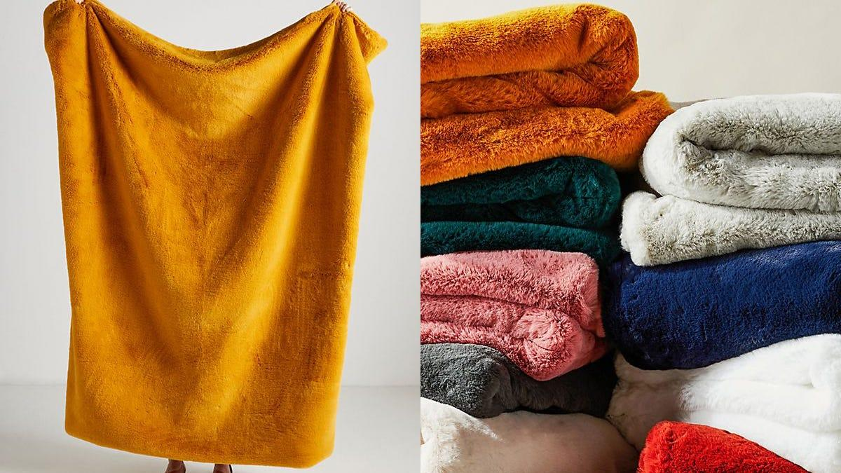 Snuggle up with this incredible (and colorful) blanket.
