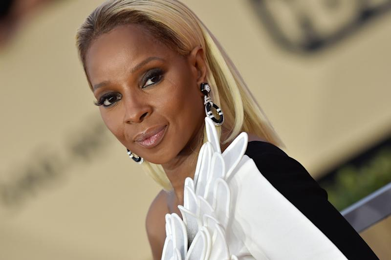 Mary J. Blige went back to her roots, donning her natural hair for role in
