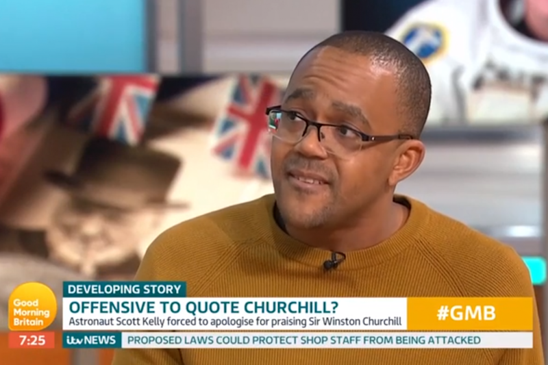 Kehinde Andrews said Churchill