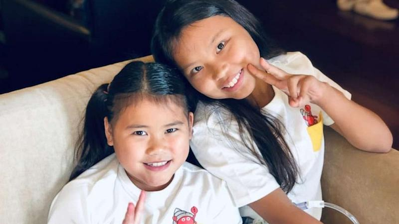 Girls from China with same disease are now sisters in US spending their 1st Christmas together