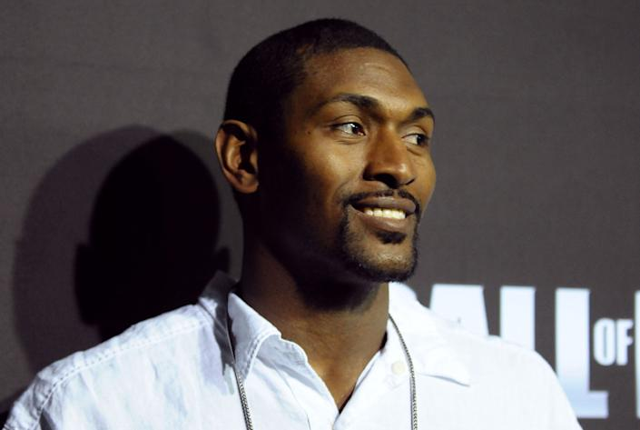 """Metta World Peace, the basketball player&nbsp;formerly known as Ron Artest, has been very public about how his sports psychologist saved his life.<br><br>Speaking with <a href=""""http://www.espn.com/nba/story/_/id/13385190/why-metta-world-peace-needed-sports-psychologist"""" rel=""""nofollow noopener"""" target=""""_blank"""" data-ylk=""""slk:ESPN"""" class=""""link rapid-noclick-resp"""">ESPN</a> in 2015, Peace explained: &nbsp;""""Everybody has different issues, good or bad, that they carry with them on the court. It affects you. And for me, it affected me to where sometimes I would be overly aggressive and, in other ways, it would affect people to where they can't perform on the court."""" <br><br>""""I was always able to perform, but sometimes I would act out and I wanted to see a sports psychologist,"""" he continued. """"Because to me, I didn't need a psychologist to get my mind right. I needed a psychologist to help me perfect what I love, and I can't perfect it when I'm on the bench or when I'm getting suspended because I'm playing upset."""""""