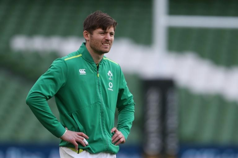 Leinster and Ireland fly-half Ross Byrne