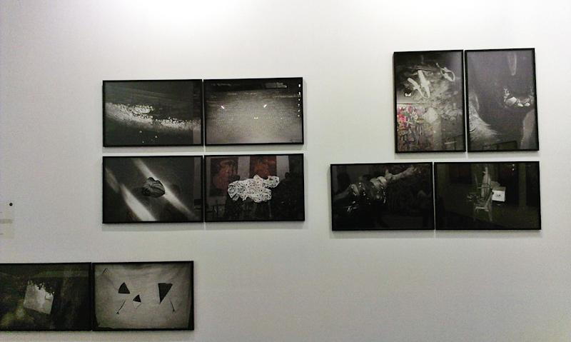 "Chua Chye Teck's ""Nothing"" photographic series is attracting interest. (Photo: Shah Salimat)"