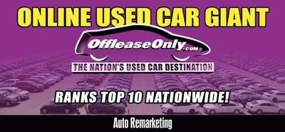 Off Lease Palm Beach >> Offleaseonly Ranks Top Volume Traditional Used Car Dealer Usa