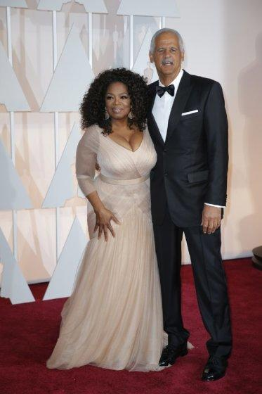 """Oprah Winfrey and Stedman Graham are not living together during the coronavirus shut-in. <span class=""""copyright"""">(Jay L. Clendenin / Los Angeles Times)</span>"""
