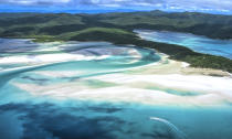 <p>Of course Australia was going to make the final cut and Whitehaven beach is one of the most incredible. <em>[Photo: Getty]</em> </p>