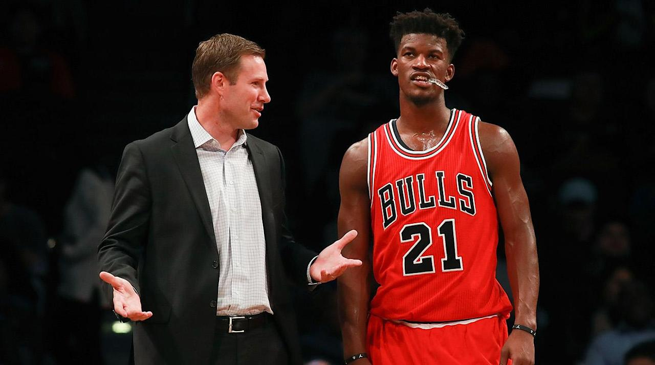"""<p>Jimmy Butler got traded, Paul George didn't, Markelle Fultz went first, LaVar Ball got his wish, and a vast majority of the lottery picks in Thursday night's draft found their new homes without too much drama. </p><p>Let's dig into the winners and losers from the 2017 NBA Draft.</p><p><strong>Losers: Chicago Bulls</strong></p><p>There's an old employment adage that goes like this: You never truly get the respect you deserve until your second job. At job one, you might receive pay raises and promotions but—in the minds of the bosses—you will always be viewed as the whippersnapper whom they originally hired.</p><p>That brings us to Jimmy Butler and the Bulls, which now simultaneously goes down as one of the most successful and most depressing player development stories in recent NBA history. During his rookie contract, Butler blossomed from an end-of-the-first-round role player to a bona fide two-way All-Star, making his bosses look like geniuses for drafting him and emerging as one of the great """"hard work will take you anywhere"""" success stories of Tom Thibodeau's coaching tenure.</p><p>In blossomed form, Butler has been a certified franchise guy, making three straight All-Star teams, earning All-NBA honors and ranking third in the league in Win Shares last season. He might have a big personality that has led to public exchanges with coach Fred Hoiberg and his younger Bulls teammates, but Butler is a big impact player (Chicago's net rating was +3 with him on and -7.1 with him off) on a very, very, very reasonable contract number deal ($18.7 million next season). He was—by far and away—the best thing Chicago had going during a dismal 2016–17 season.</p><p>But instead of granting Butler the franchise-player treatment once he had earned it, Chicago's befuddling management team continued handling him like just another guy. They <a rel=""""nofollow"""" href=""""https://www.si.com/nba/2015/07/01/jimmy-butler-chicago-bulls-marquette-free-agency-derrick-rose-pau-gasol"""">low-balled h"""