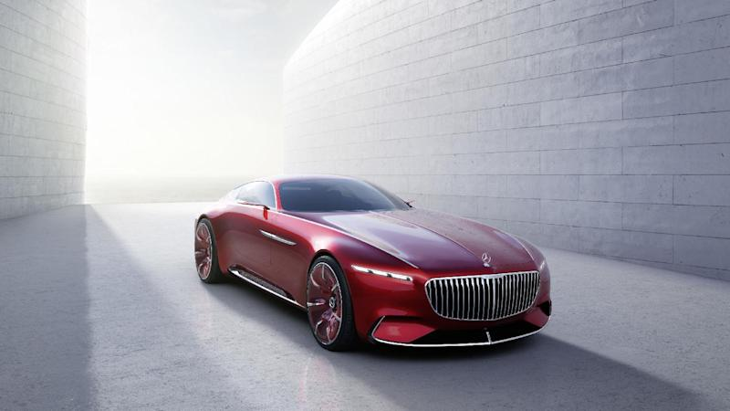 vision mercedes-maybach 6 is a 100% electric concept coupé