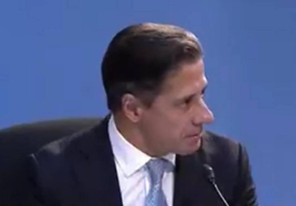 Miami-Dade County Public Schools Superintendent Alberto Carvalho speaks to members of the School Board during a meeting Wednesday, June 23, 2021.