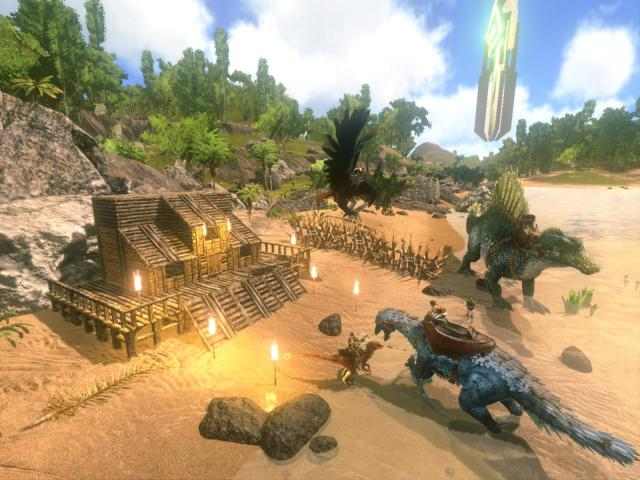 Ark: Survival Evolved' is now free to download on iOS and Android