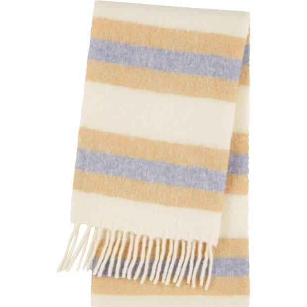 "<p>JW Anderson x Uniqlo Wool Blend Brushed Scarf, $19.90, <a href=""https://www.uniqlo.com/jwanderson/20fw/us/en/women/"" rel=""nofollow noopener"" target=""_blank"" data-ylk=""slk:available here"" class=""link rapid-noclick-resp"">available here</a>. </p>"