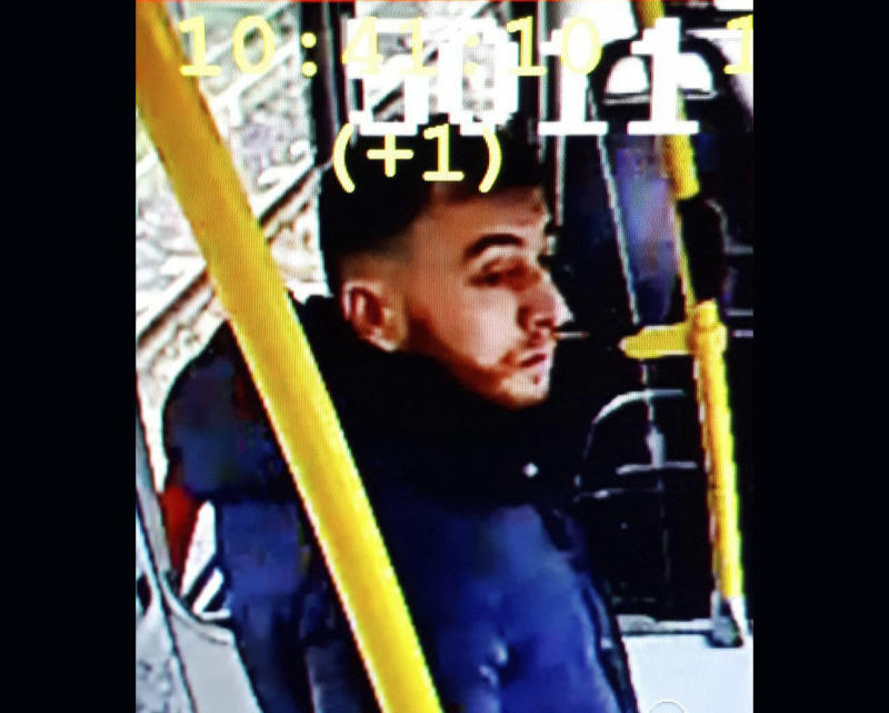 Gokmen Tanis, who police arrested in connection with a deadly shooting on a tram, is seen in a photo released by Dutch police. (Associated Press)