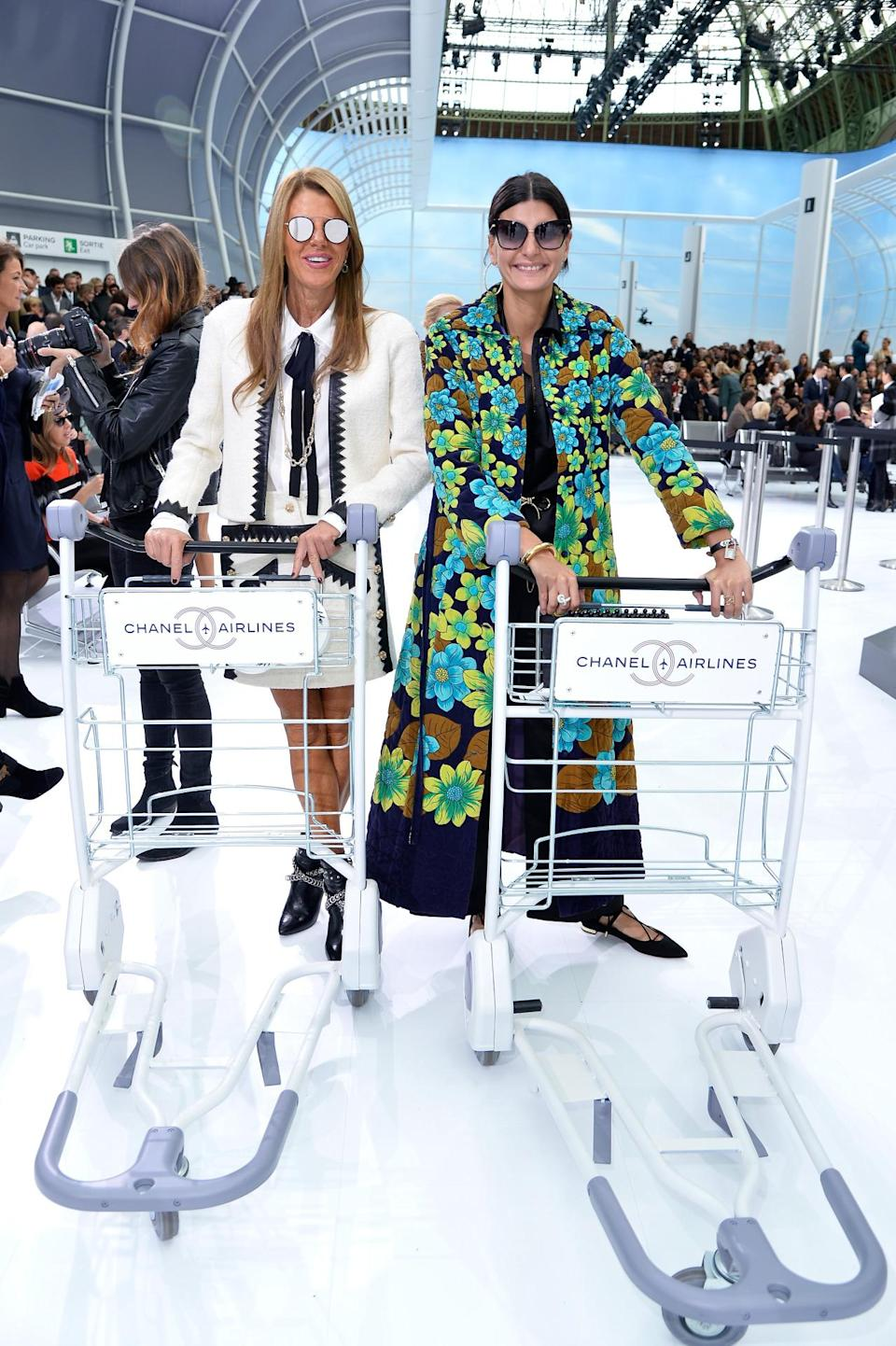 <p>Everyone loves an Instagram prop! (Even if you already have the wardrobe of Anna Dello Russo or Giovanna Battaglia.) (<i>Photo: Getty Images)</i></p>