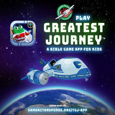 Play Greatest Journey, a Bible game app for kids!