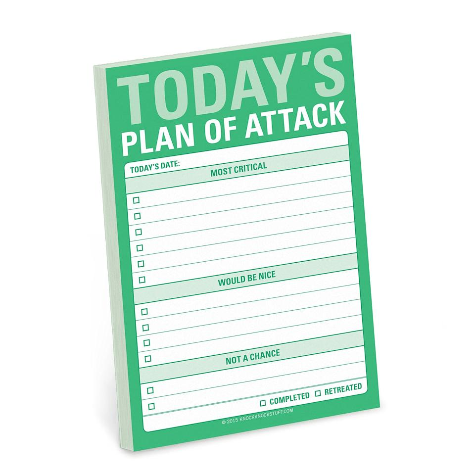 "<p>Stay motivated with these fun <a href=""https://www.popsugar.com/buy/Knock-Knock-Today-Plan-Attack-Great-Big-Stickies-376671?p_name=Knock%20Knock%20Today%27s%20Plan%20of%20Attack%20Great%20Big%20Stickies&retailer=amazon.com&pid=376671&price=8&evar1=fit%3Aus&evar9=20348681&evar98=https%3A%2F%2Fwww.popsugar.com%2Ffitness%2Fphoto-gallery%2F20348681%2Fimage%2F45421737%2FKnock-Knock-Today-Plan-Attack-Great-Big-Stickies&list1=shopping%2Choliday%2Cgift%20guide%2Cworkouts%2Cfitness%20gear%2Cfitness%20gifts%2Cgifts%20under%20%2425&prop13=api&pdata=1"" rel=""nofollow"" data-shoppable-link=""1"" target=""_blank"" class=""ga-track"" data-ga-category=""Related"" data-ga-label=""https://www.amazon.com/Knock-Todays-Attack-Great-Stickies/dp/1601067755/ref=pd_sim_14_3?_encoding=UTF8&amp;pd_rd_i=1601067755&amp;pd_rd_r=7c71aa74-d899-11e8-8a6a-edd5ab8179b1&amp;pd_rd_w=A2VJE&amp;pd_rd_wg=DyX95&amp;pf_rd_i=desktop-dp-sims&amp;pf_rd_m=ATVPDKIKX0DER&amp;pf_rd_p=18bb0b78-4200-49b9-ac91-f141d61a1780&amp;pf_rd_r=6GX6V2QWM7HYP1X7KHMR&amp;pf_rd_s=desktop-dp-sims&amp;pf_rd_t=40701&amp;psc=1&amp;refRID=6GX6V2QWM7HYP1X7KHMR"" data-ga-action=""In-Line Links"">Knock Knock Today's Plan of Attack Great Big Stickies</a> ($8). You can log your goals for everything from the office to workouts.</p>"