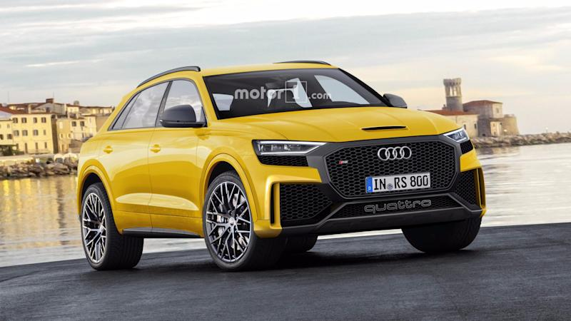 Audi Rs Q8 And Bmw X6 M Caught Attacking The Nurburgring