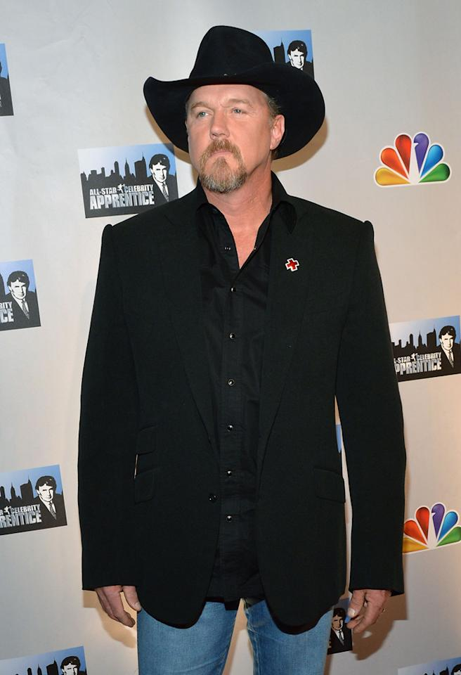 "NEW YORK, NY - OCTOBER 12:  Trace Adkins attends the ""Celebrity Apprentice All Stars"" Season 13 Press Conference at Jack Studios on October 12, 2012 in New York City.  (Photo by Slaven Vlasic/Getty Images)"