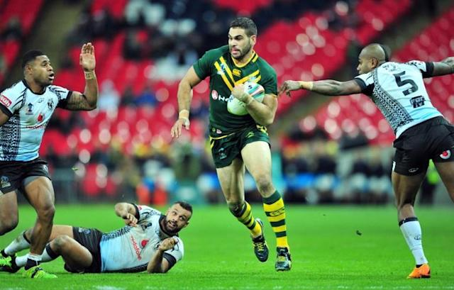 Australia's Greg Inglis has come out of retirement to join Warrington (AFP Photo/GLYN KIRK)