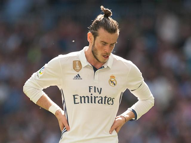 Bale was forced off during el clásico and will now be out for many weeks