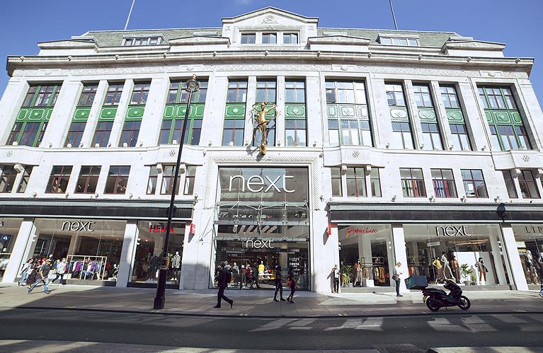Next's Oxford Street store. Photo: Next